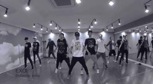 EXO - Dubstep Intro Dance Practice Video